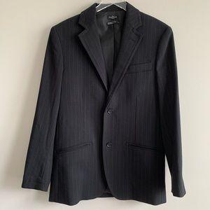 Marc Ecko Cut & Sew Pin stripe suit blazer